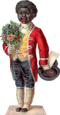 Glanzbilder - Victorian Die Cut - Victorian Scrap - Tube Victorienne - Glansbilleder - Plaatjes : Farbige - colored people - de couleur