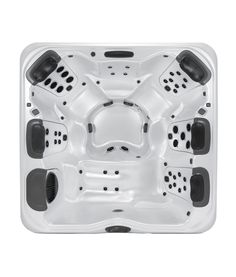 The A7L is a well proportioned mid-size hot tub that provides a perfect combination of massage types in several of the most comfortable spa seats available in any spa of this size. https://www.midstatepools.com/product/bullfrog-spas-a7l/