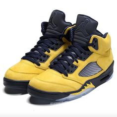 1e92d5d6a6ac Michigan-inspired Air Jordan 5 Retro SP Inspire Releases On August 10th
