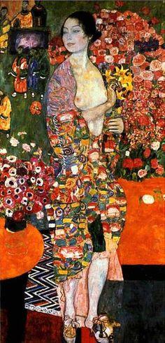 """Gustav Klimt  Austrian  1862 - 1918  """"The Dancer"""""""