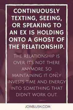 Dealing with heartache breakup