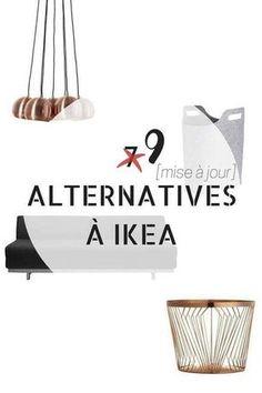 Marre d'IKEA ? Voici 9 Alternatives Que Vous Devez Connaître http://www.homelisty.com/alternative-ikea/