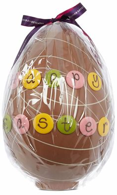 One lucky winner in the Easter Egg hunt went home with this, guaranteed to last the Easter hols and beyond! #easteregg #chocolate