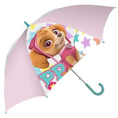 "Children's 15.5"" Umbrella - Paw Patrol Pink Paw Patrol Umbrella, Paw Patrol Lunch Box, Twistable Crayons, Childrens Umbrellas, Paw Patrol Coloring, Paw Patrol Pups, Pink Umbrella, Washable Paint, Painted Sticks"