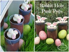 Lynlee's Petite Cakes: Rabbit Hole Push Pops