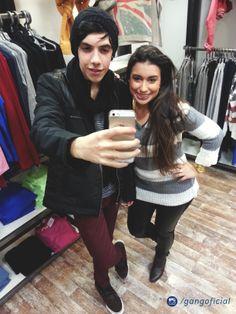 #ComQueRoupa com o Antony e a Maira de Novo Hamburgo www.gang.com.br