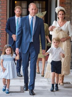 Prince William, Kate Middleton, Princess Charlotte, Prince George and Prince Louis