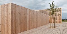 Odile + Guzy architectes — Temporary Information Centre — Europaconcorsi