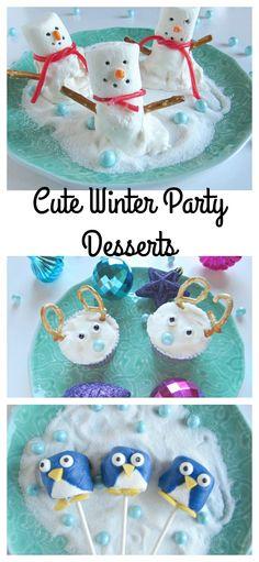 Cute Winter Party Desserts