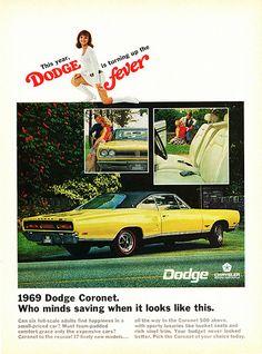 1969 Dodge Coronet 2-Door Hardtop