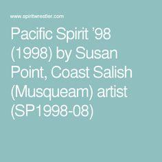 Pacific Spirit '98 (1998) by Susan Point, Coast Salish (Musqueam) artist (SP1998-08)