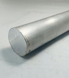"""Vergalhão Redondo Alumínio 1.1/2"""" polegada (3,81cm) - Alumínio Alure"""