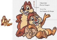 Free Cross Stitch Pattern - Rescue Rangers Pattern by ~Santian69 on deviantART