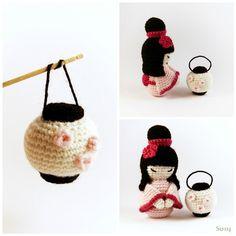 Amigurumi Lantern by SuniMam.deviantart.com on @deviantART