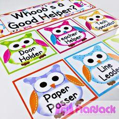 http://www.teacherspayteachers.com/Product/Owl-Themed-Classroom-Materials-Pack-255836