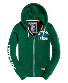 Sweat À Capuche Zippé Track & Field - Taille : Superdry Fashion, Superdry Style, Hoodie Sweatshirts, Zip Hoodie, Urban Fashion, Mens Fashion, Track And Field, Pulls, Lacoste