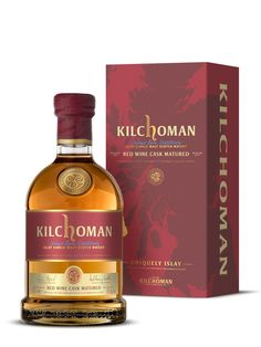 Are you looking for a KILCHOMAN Red Wine Cask Matured The best choice of whisky kilchoman. Malt Whisky, Scotch Whisky, Cigars And Whiskey, Whiskey Bottle, Wine Cask, Strong Drinks, Fancy Drinks, Wine Recipes, Red Wine