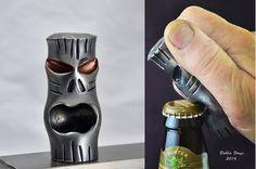 Forged Steel Tiki Bottle Opener by BobbioForgeLLC on Etsy
