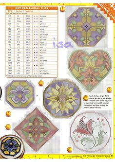 Gallery.ru / Фото #28 - The world of cross stitching 042 февраль 2001 - WhiteAngel