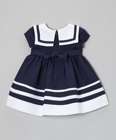 The back zipper on the dress and elastic on the diaper cover make slipping into these pieces easy sea-breezy. Note: Only infant sizes include diaper covers.