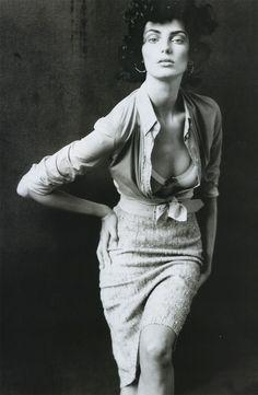Daria Werbowy by Paolo Roversi … Vogue Paris, March 2004 …