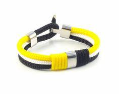 Items similar to Cruise Nautical Anchor Bracelet / Beach Bracelet / We love the Ocean / Sailor Bracelet / Sea Jewelry / Paracord Bracelet / Best couple gift on Etsy Bracelets For Men, Handmade Bracelets, Handmade Jewelry, Unique Jewelry, Handmade Gifts, Marine Rope, Nautical Bracelet, 10 Days, Paracord