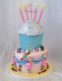 candy land birthday cakes | Candy Land Birthday Cake | Cake Is Life
