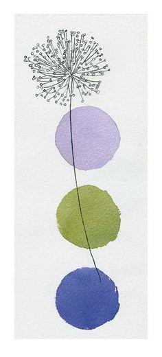 Circles and Dandelion