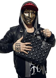 Hollywood Undead promoting Dior to Funny maybe funny man had to do with it lol JK