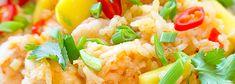 Ryż smażony po tajsku z krewetkami i mango