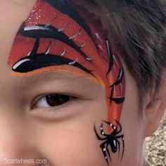 In this post we'll talk about the basics of face painting so you can get started painting faces with confidence! This is a brief overview of what you'll need to know to get started. Face Painting Shop, Face Painting Tips, Face Painting Designs, Paint Designs, Fan Brush, Brush Type, Face Paint Brushes, Black Face Paint, Facial