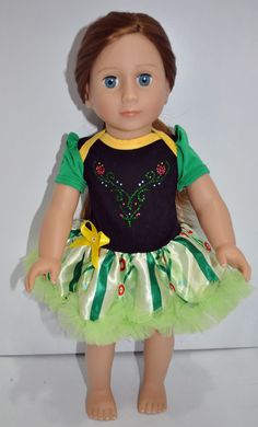 American Girl Doll Our Generation Journey Girl 18 Doll Clothes Anna Frozen Dress $15.00 from Sew Nice Dolls Clothes Accessories