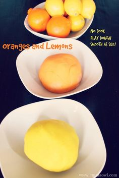 No Cook Play Dough. Smooth as silk. Very easy to make and lasts for months!