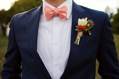 Tommy Hilfiger suit and bow tie.