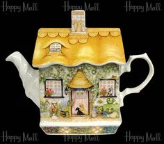 Sadler Teapot, Rose Cottage