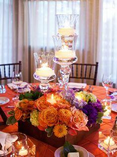 12 Fabulous Centerpieces for Fall Weddings | Floral Design: Splendid Sentiments
