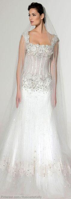 Saher Dia | Bridal Couture, S/S 2013 Keywords: #weddinggowns #jevelweddingplanning Follow Us: www.jevelweddingplanning.com www.facebook.com/jevelweddingplanning/