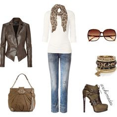 """Animal Instinct"" by archimedes16 on Polyvore  wooooww top!!"