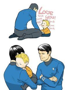 Spock, Jim, Bones