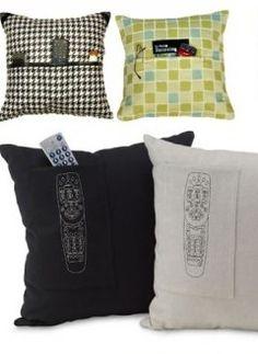 almofadas com porta treco