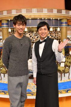 徳井義実さんと竹内涼真さん