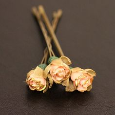 Sunday Rose Bridal Hair Accessories Wedding by HandmadeByJaclyn