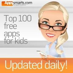 Top 100 FREE apps for kids for iPad and iPhone - Appysmarts list with daily updates!