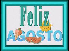 GIF ANIMADOS... : GIF ANIMADOS TRANSPARENTES DE FRASES (FELIZ AGOSTO)