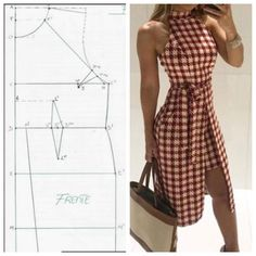 Amazing Sewing Patterns Clone Your Clothes Ideas. Enchanting Sewing Patterns Clone Your Clothes Ideas. Sewing Dress, Dress Sewing Patterns, Diy Dress, Sewing Clothes, Clothing Patterns, Barbie Clothes, Fashion Sewing, Diy Fashion, Ideias Fashion