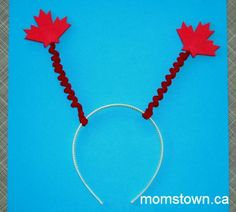 Canada Day Deely-Bopper Headband | momstown National