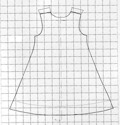 The tutorial of the reversible trapeze costume Baby Girl Dress Patterns, Doll Clothes Patterns, Sewing Clothes, Clothing Patterns, Diy Clothes, Sewing Patterns, Coin Couture, Couture Sewing, Sewing Hacks