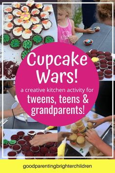 Studies suggest that grandparents are very important to teens because they offer advice, unconditional love and time. Here are 9 amazing activities for teens, tweens & grandparents. From art, writing, hiking, cooking, creating—building bonds of love & friendship between teens & grandparents. #grandma #grandparents #grandchildren #activitiesfor #dayactivities #daycrafts #howtobethebest #mykidshavethebest #whygrandparentsareimportant Family Reunion Activities, Activities For Teens, Grandparents Day Crafts, Cupcake Wars, Parenting Teenagers, Crafts With Pictures, Family Game Night, Lessons For Kids, Grandchildren
