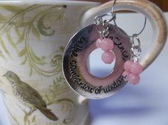 Pink Morganite Gemstone Mug or Wine Glass by SerendipityWorld, $3.00