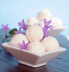 Pralinen Kokoskugeln selber machen